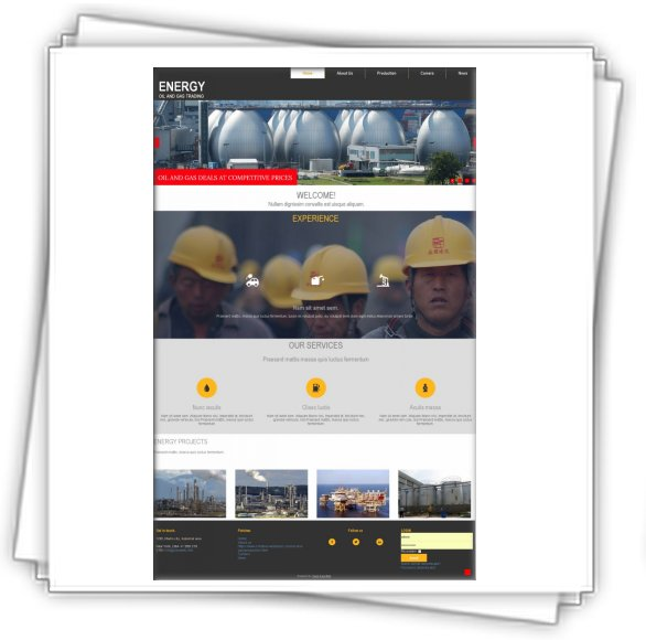 Templates Joomla 3x Oil and Gas